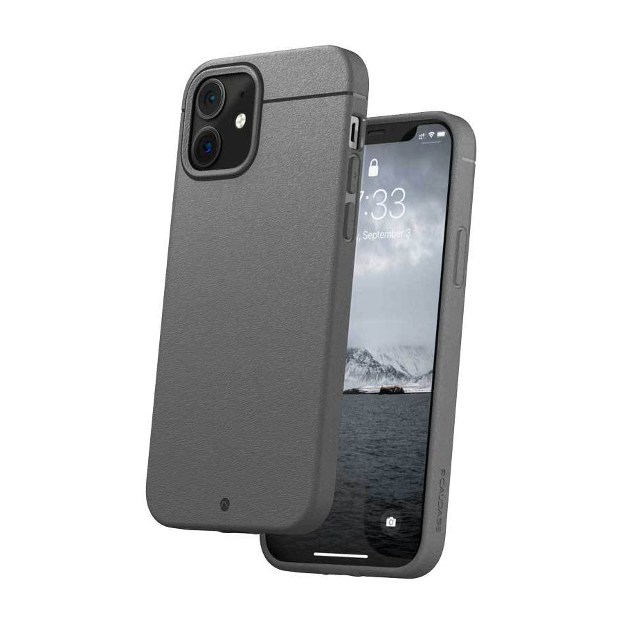 Caudabe Sheath Slim Protective Case For iPhone iPhone 12 mini - GREY