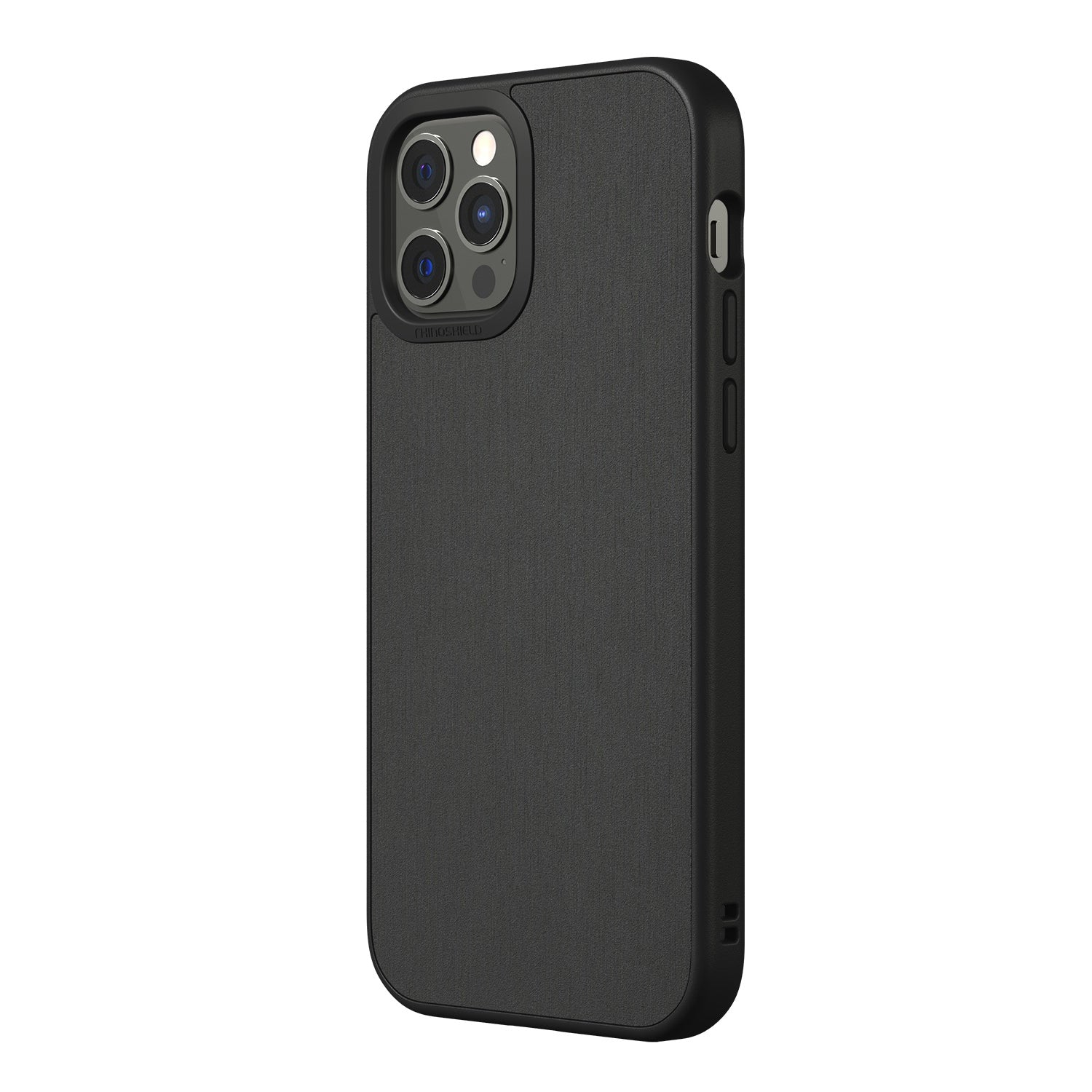 RhinoShield SolidSuit Rugged Case For iPhone 12 / 12 Pro  - Brushed Steel