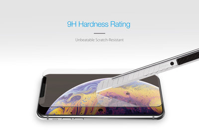 Just Mobile Xkin Ultra Thin Tempered Glass Screen Protector For iPhone XR