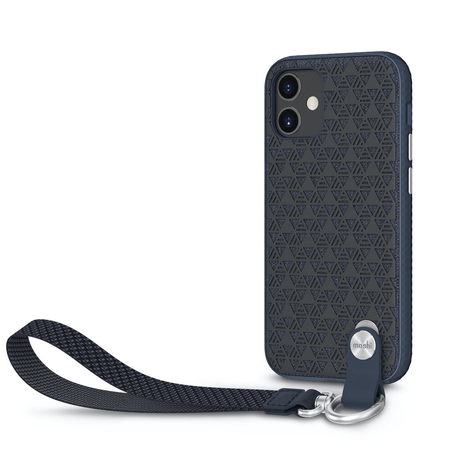 Moshi Altra Case w/ Wrist Strap For iPhone 12 mini - Midnight Blue