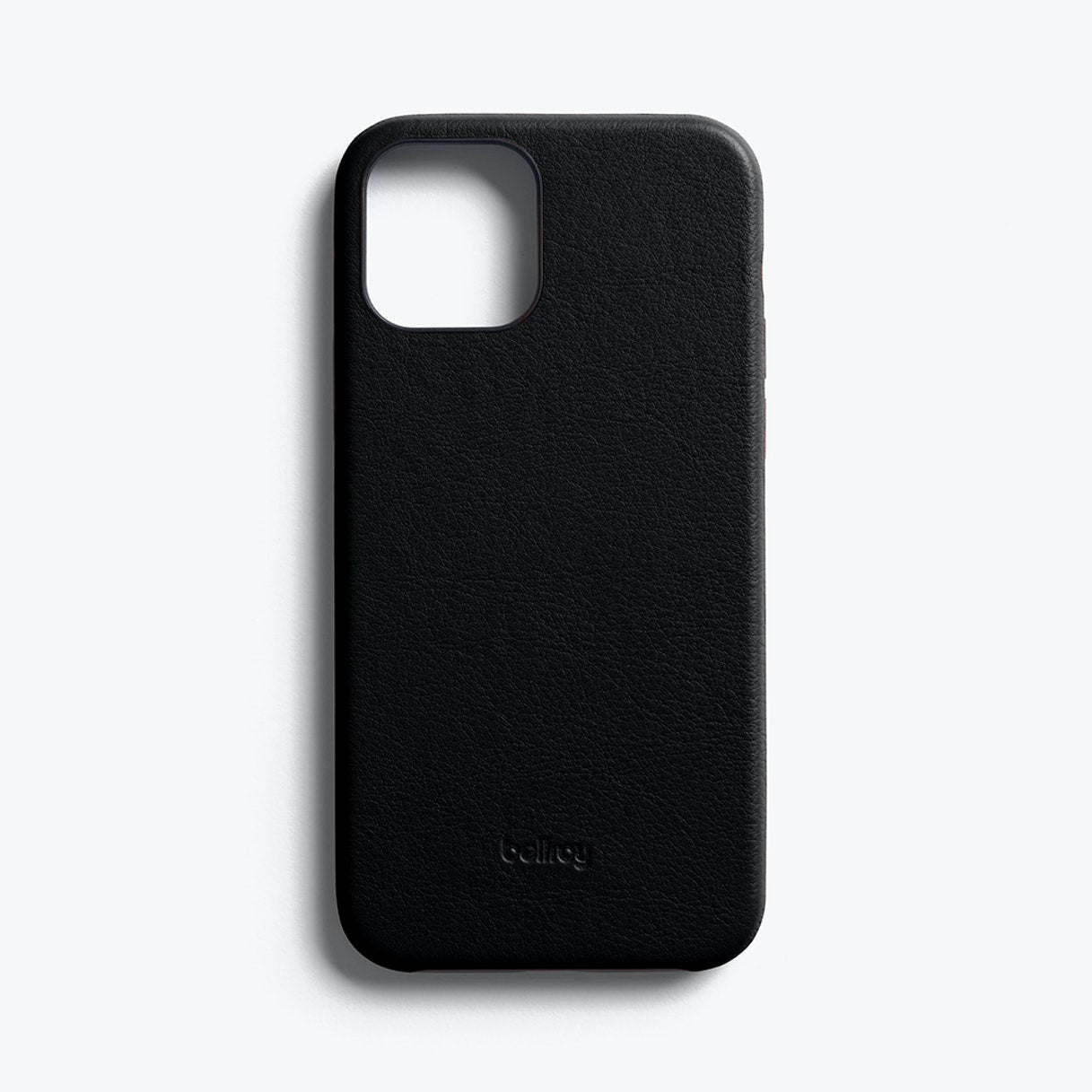 Bellroy Slim Genuine Leather Case For iPhone iPhone 12 / 12 Pro - BLACK