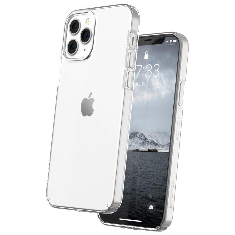 Caudabe Lucid Clear Minimalist Case For iPhone iPhone 12 Pro Max - CRYSTAL