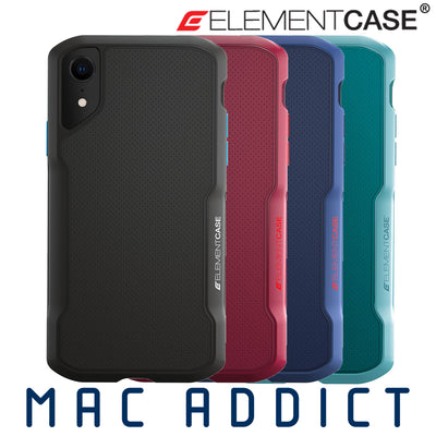 Element Case Shadow MIL-SPEC TPU Soft-Touch Rugged Case For iPhone XR - Macintosh Addict