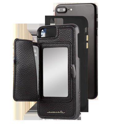 Case-Mate Compact Mirror Case For iPhone 8 Plus / 7 Plus / 6s Plus / 6 Plus - BLACK - Macintosh Addict