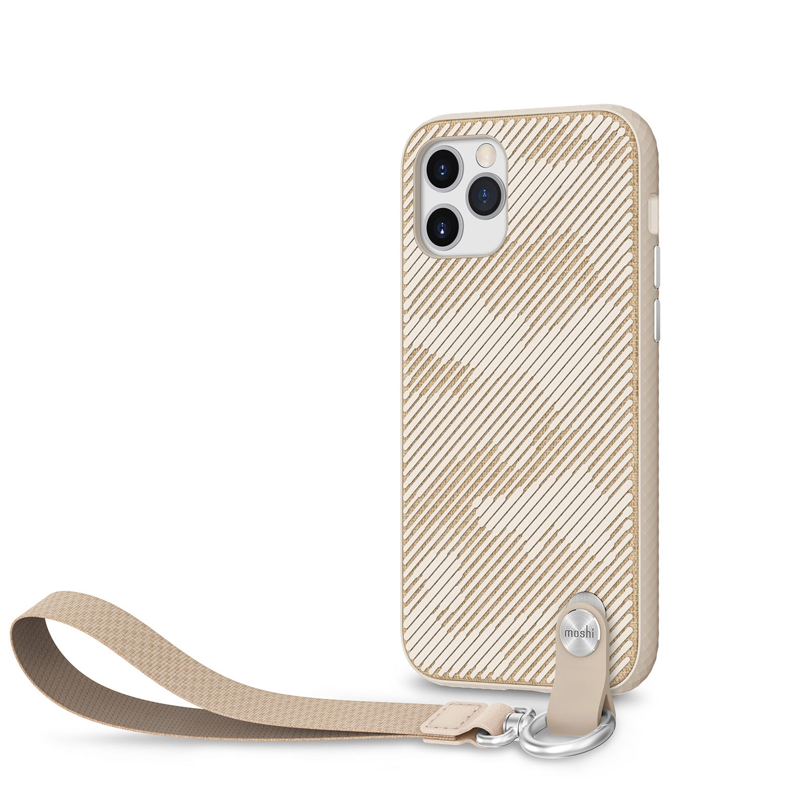 Moshi Altra Case w/ Wrist Strap For iPhone 12 / 12 Pro - Sahara Beige