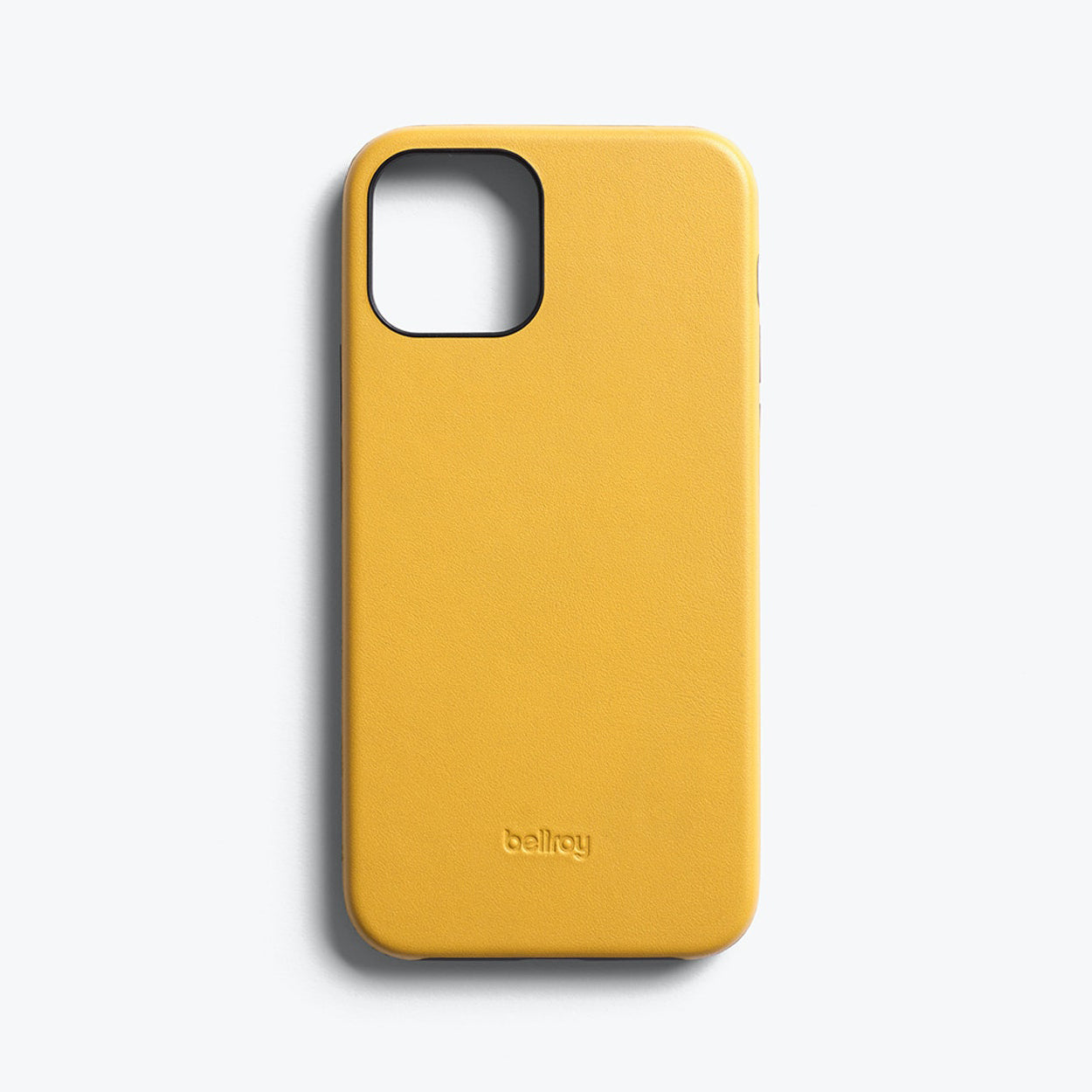 Bellroy Slim Genuine Leather Case For iPhone iPhone 12 mini - LEMON