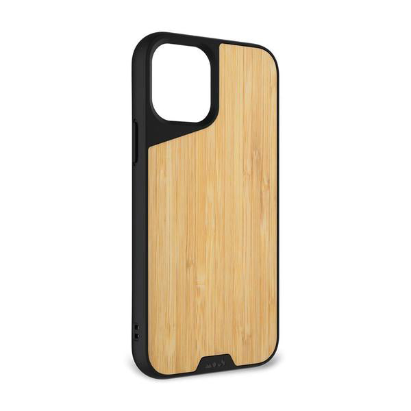 Mous Limitless 3.0 Protective Case For iPhone 12 / 12 Pro - BAMBOO