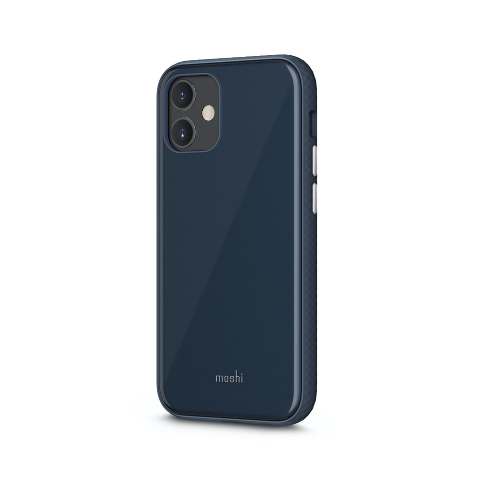 Moshi iGlaze Slim Hardshell Case For iPhone 12 mini - Slate Blue