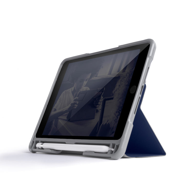 STM Dux Plus Duo For iPad mini 5th/4th Gen - Midnight Blue