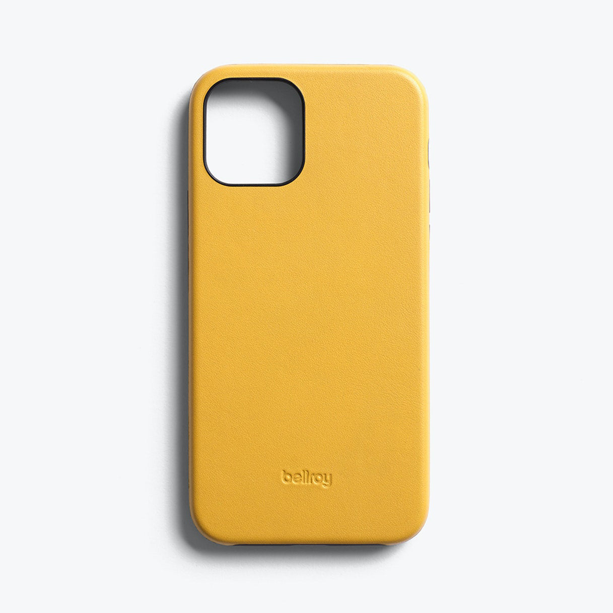 Bellroy Slim Genuine Leather Case For iPhone iPhone 12 / 12 Pro - LEMON