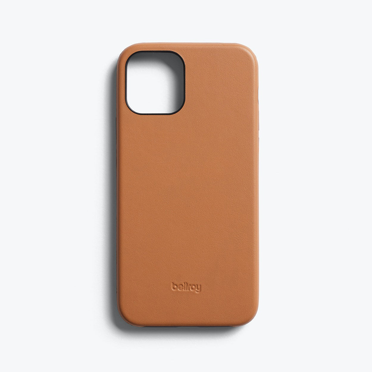 Bellroy Slim Genuine Leather Case For iPhone iPhone 12 mini - TOFFEE