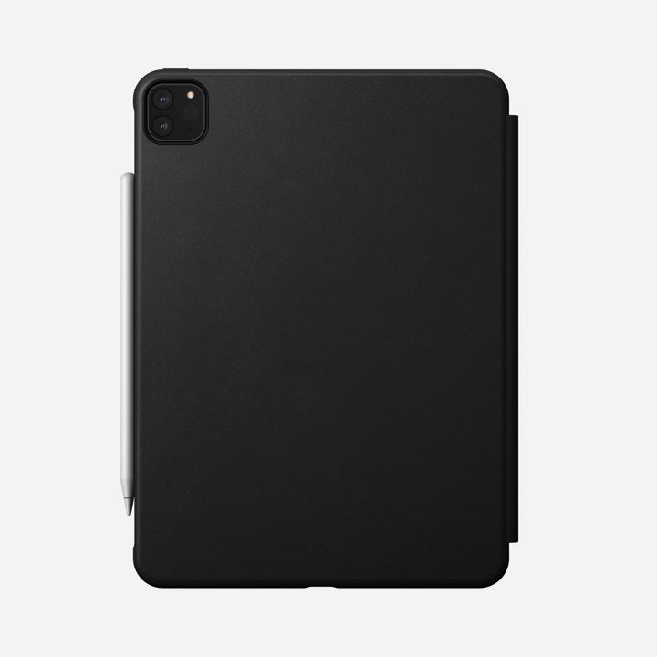 "Nomad Rugged Folio Case w/ Horween Leather For iPad Pro 11"" (2nd Gen) - Black"
