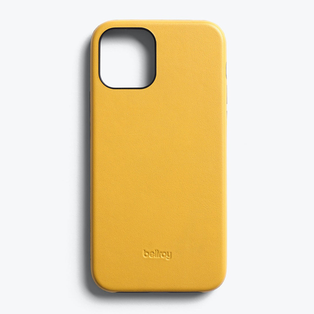 Bellroy Slim Genuine Leather Case For iPhone iPhone 12 Pro Max - LEMON