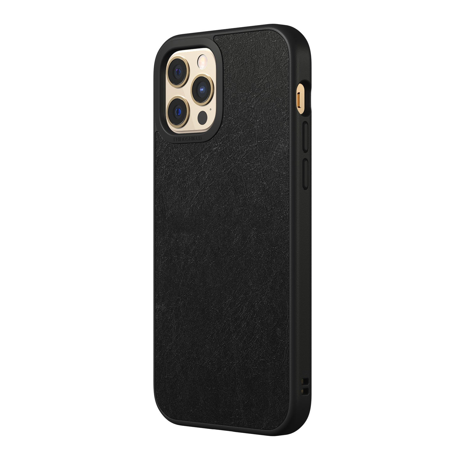 RhinoShield SolidSuit Rugged Case For iPhone 12 / 12 Pro  - Genuine Leather