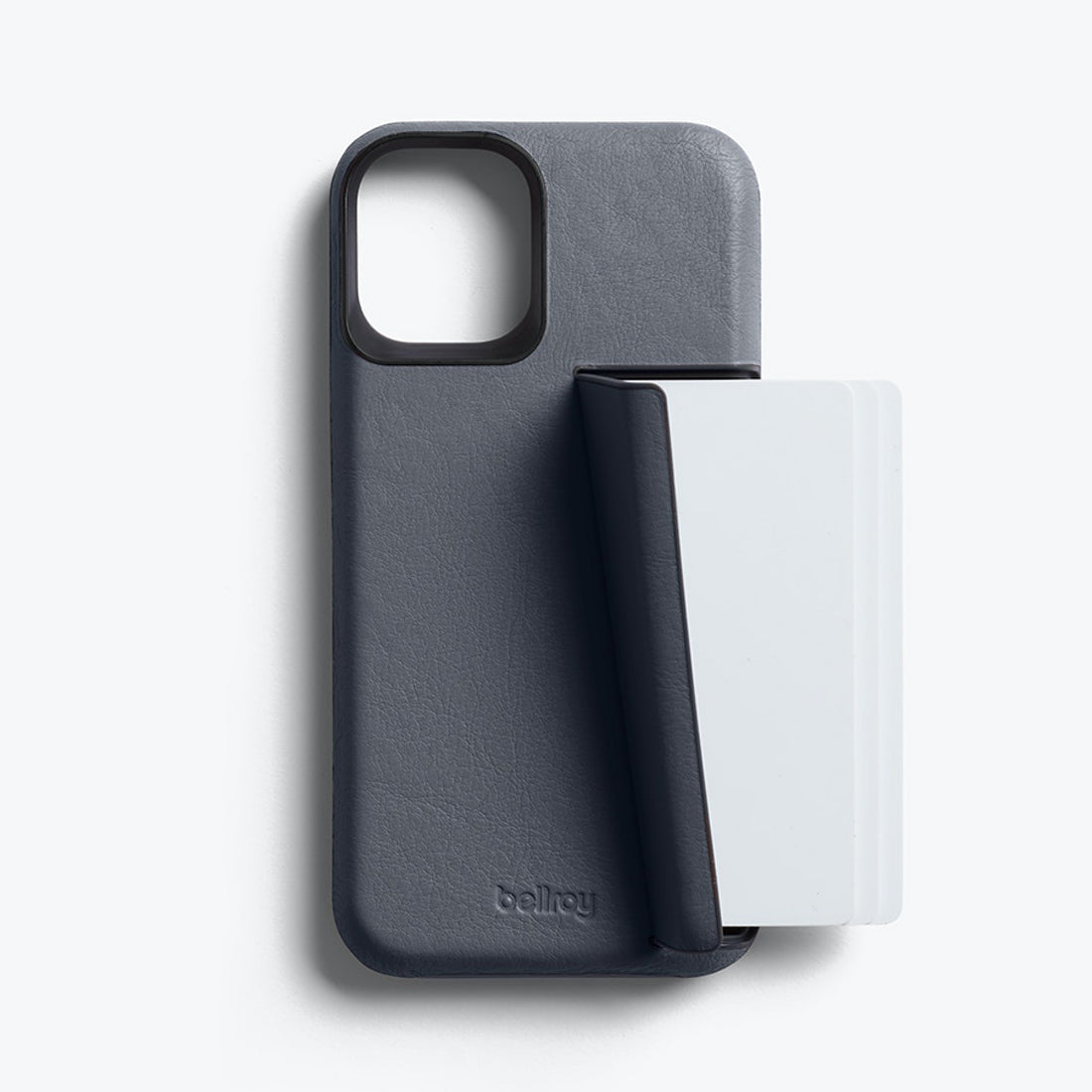 Bellroy 3-Card Genuine Leather Wallet Case For iPhone iPhone 12 mini - GRAPHITE