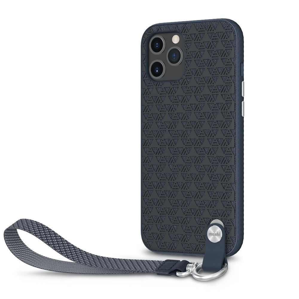 Moshi Altra Case w/ Wrist Strap For iPhone 12 Pro Max - Midnight Blue