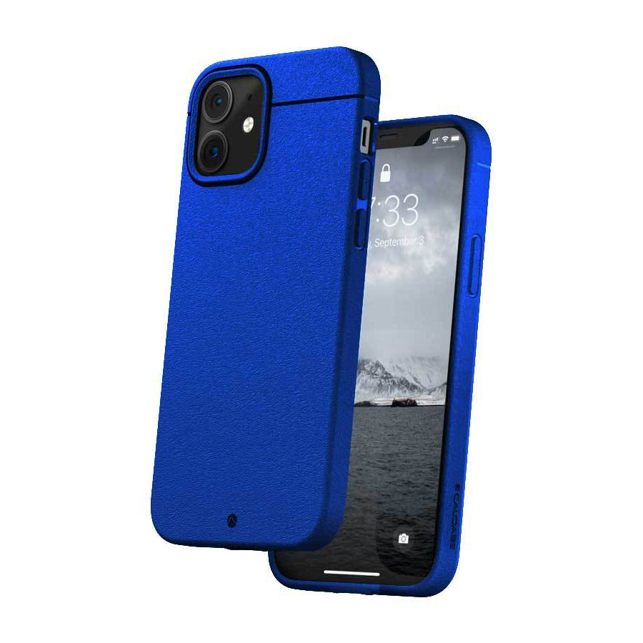 Caudabe Sheath Slim Protective Case For iPhone iPhone 12 mini - ELECTRIC BLUE