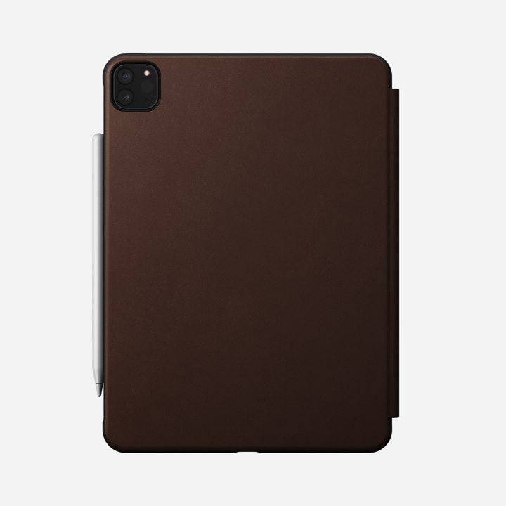 "Nomad Rugged Folio Case w/ Horween Leather For iPad Pro 11"" (2nd Gen) - Brown"