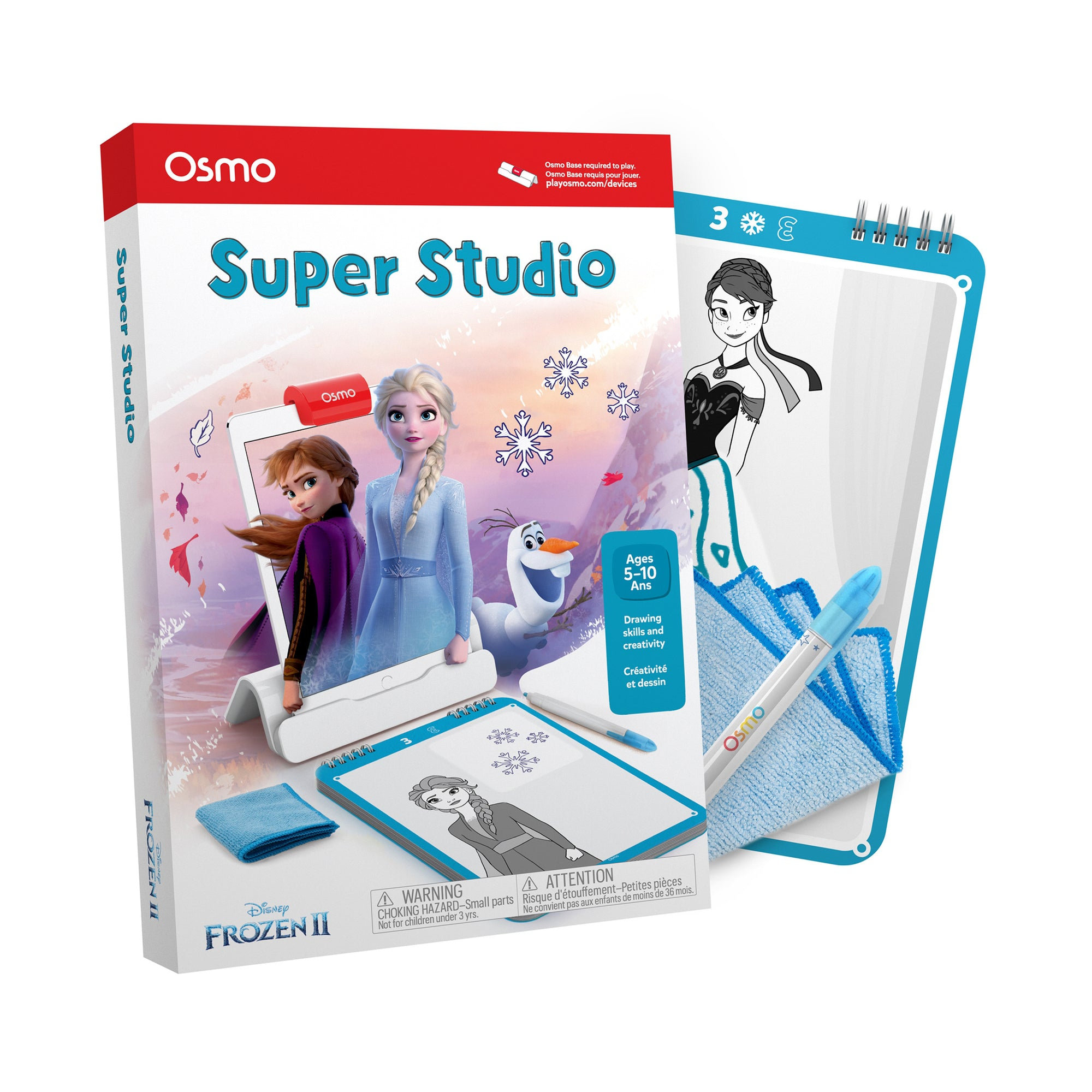 Osmo Super Studio Disney Frozen 2 Drawing Game (Base NOT Incl.)