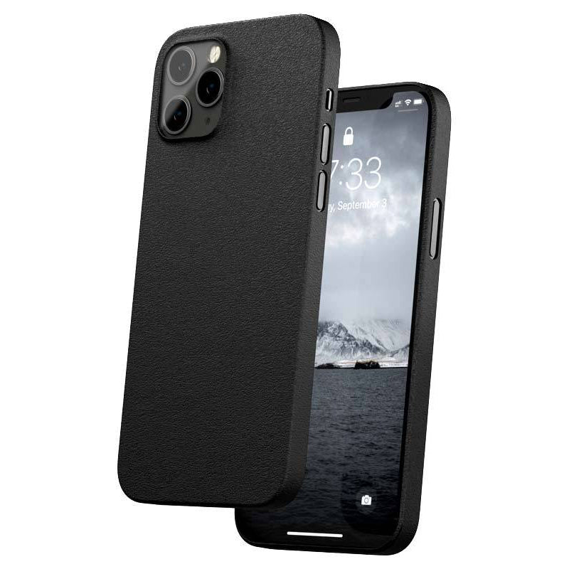 Caudabe The Veil Ultra Thin Case For iPhone iPhone 12 Pro Max - STEALTH BLACK