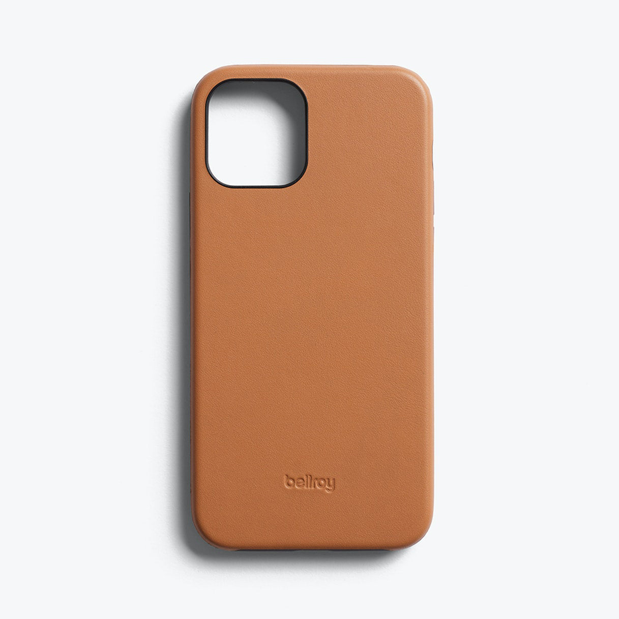 Bellroy Slim Genuine Leather Case For iPhone iPhone 12 / 12 Pro - TOFFEE