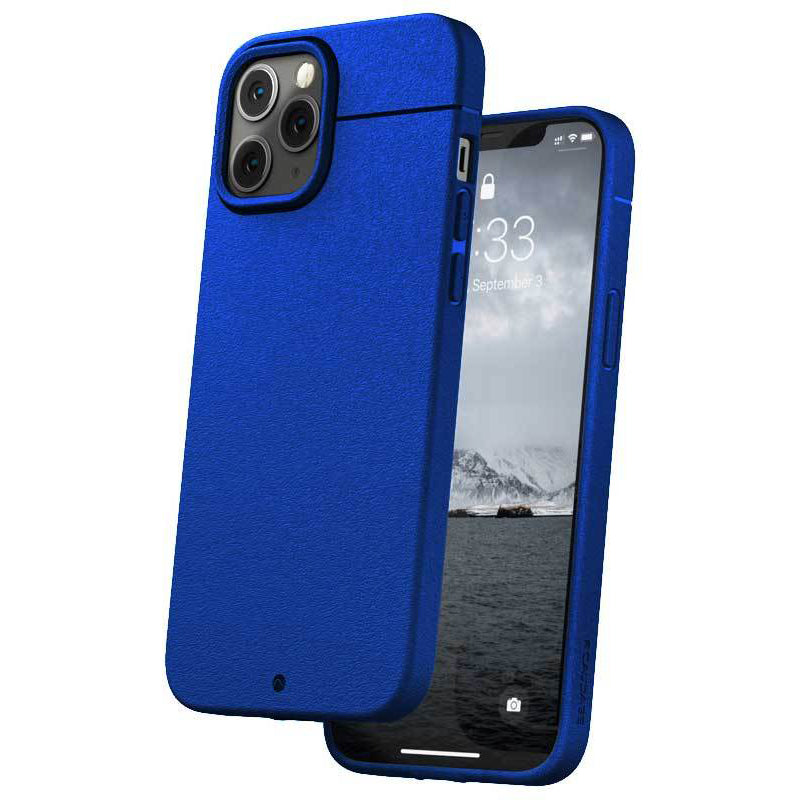 Caudabe Sheath Slim Protective Case For iPhone iPhone 12 Pro Max - ELECTRIC BLUE