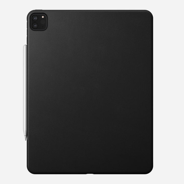 "Nomad Rugged Case w/ Horween Leather For iPad Pro 12.9"" (4nd Gen) - Black"