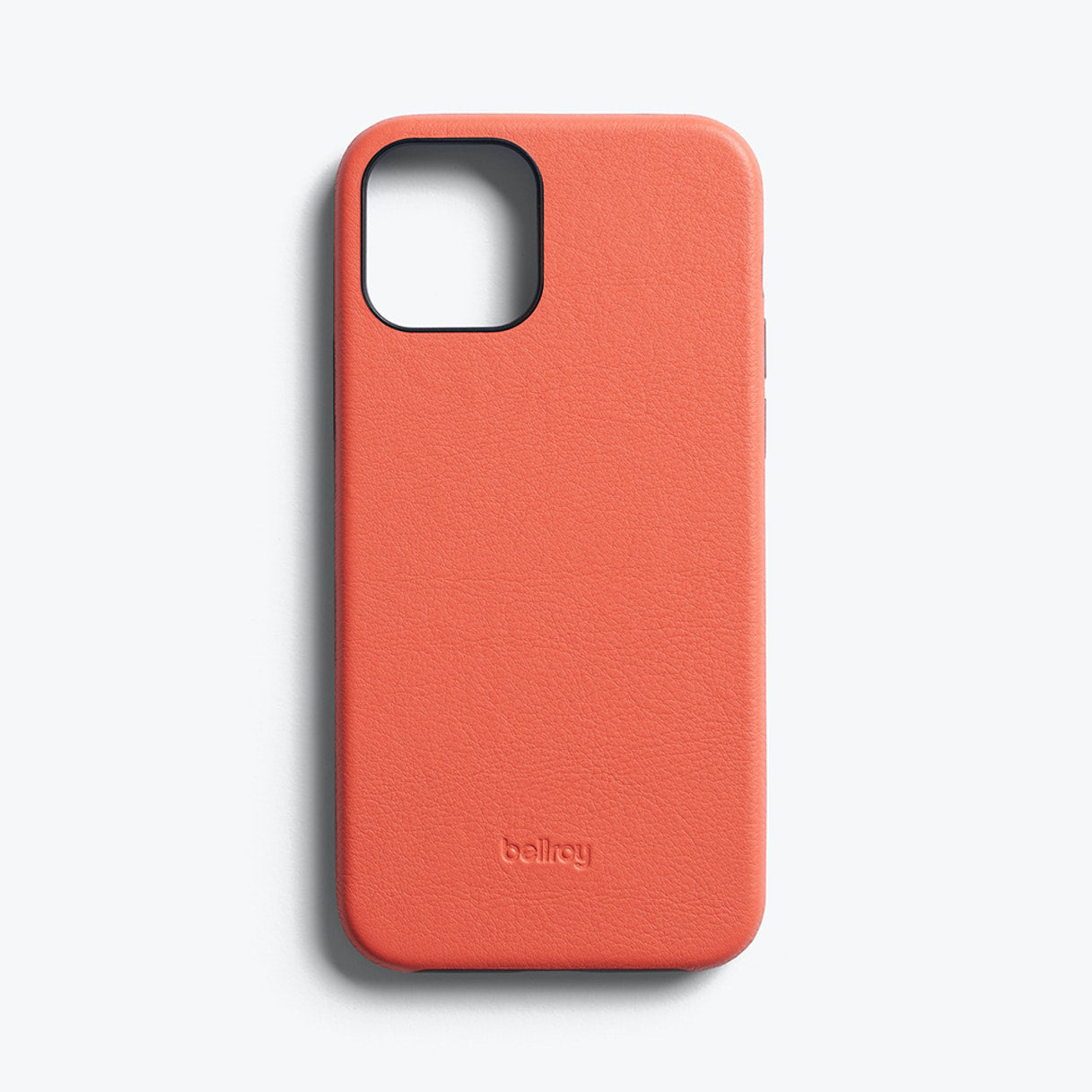 Bellroy Slim Genuine Leather Case For iPhone iPhone 12 / 12 Pro - CORAL