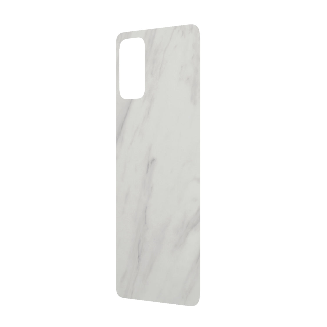 RhinoShield Impact Skin For Samsung S20 Plus - White Marble - Macintosh Addict