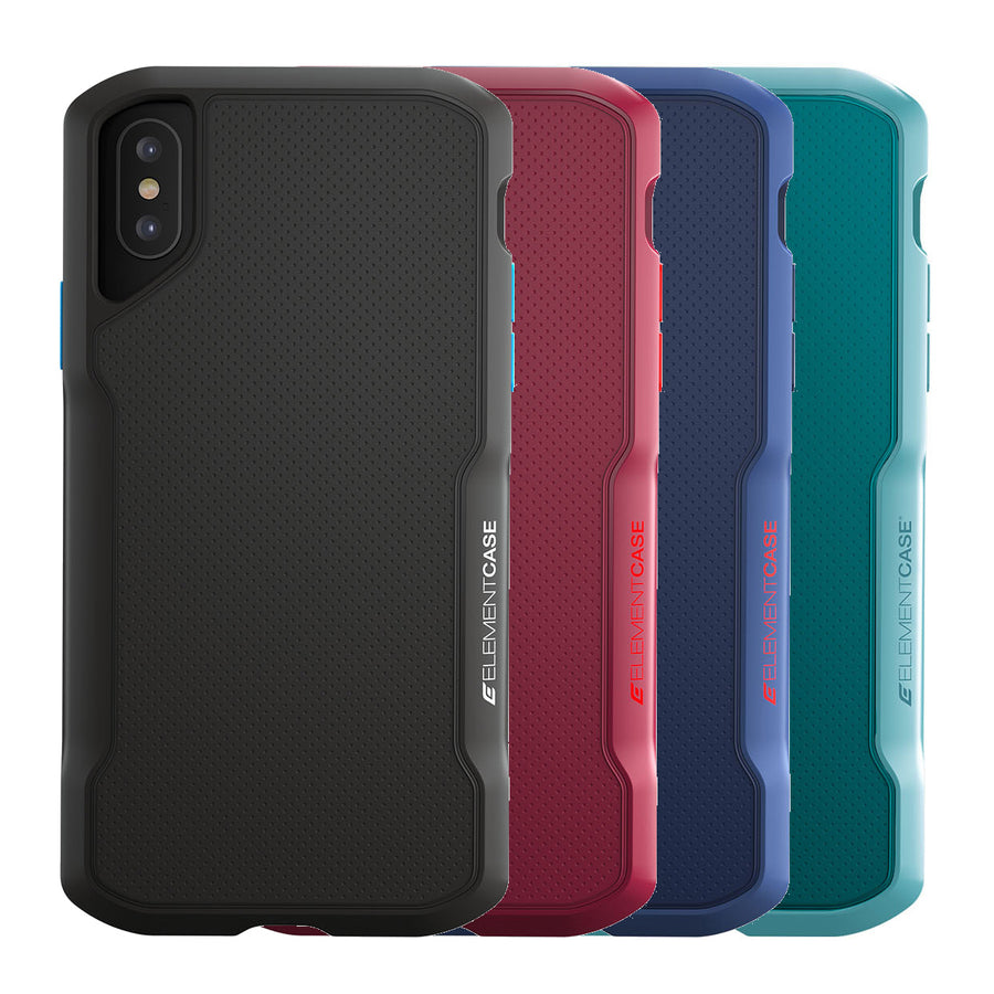 66cb7f3b8dd6e5 Element Case Shadow MIL-SPEC TPU Soft-Touch Rugged Case For iPhone XS Max