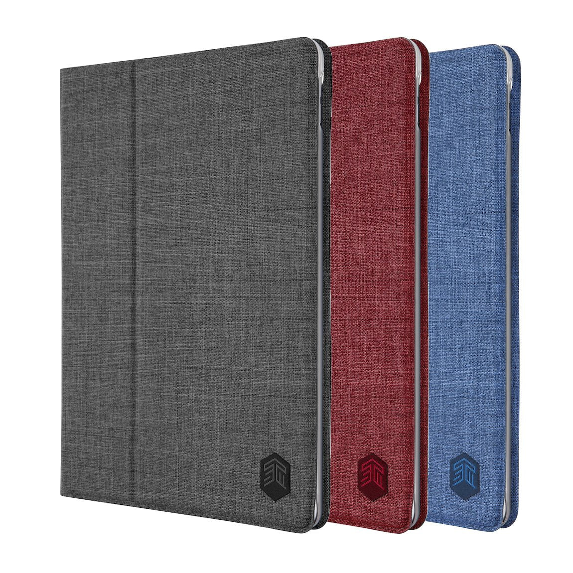 "STM Atlas Fabric Folio Cover Case / Pencil Holder For iPad 6th/5th Gen/Pro 9.7""/Air 2"