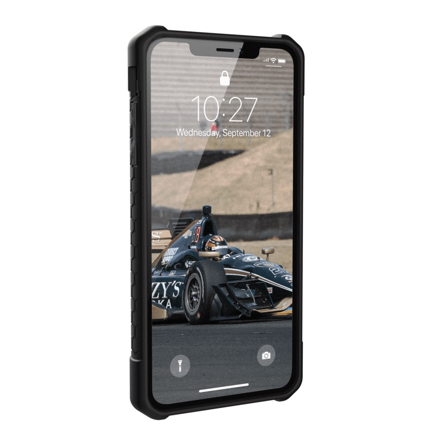 separation shoes 75bf5 f42ad UAG Monarch Premium Ultra Rugged Protective Case For iPhone XS Max- Black  Leather