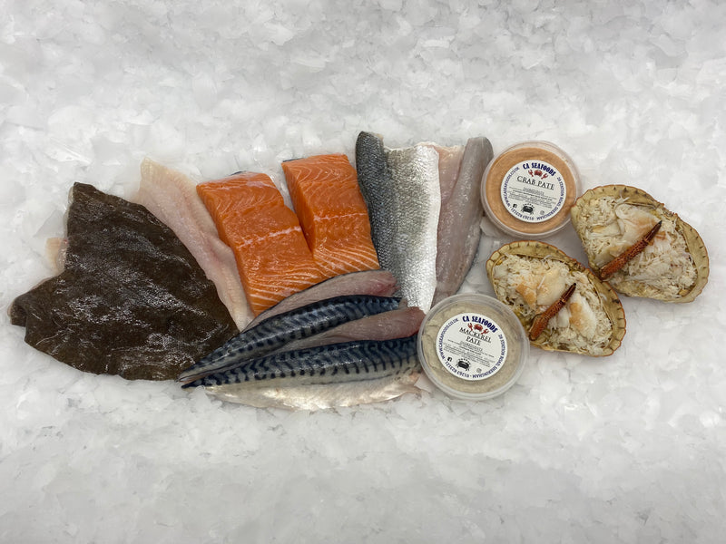 Bronze Seafood Box