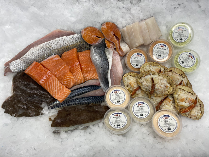 Gold Seafood Box