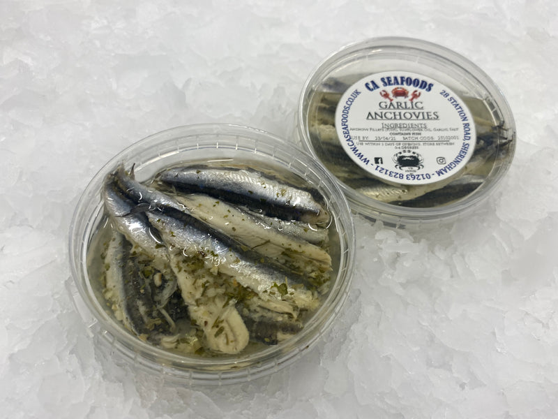 Garlic Anchovies