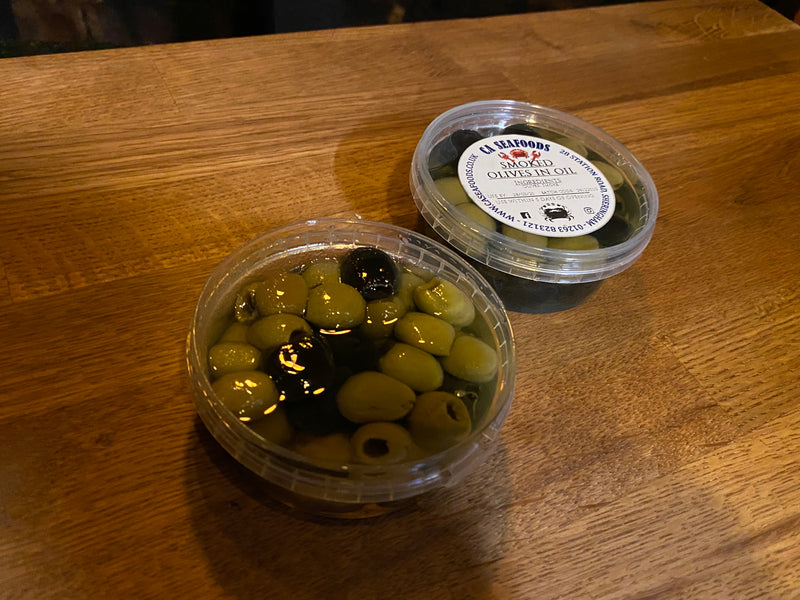 Smoked Olives In Oil