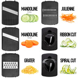 6-in-1 Vegetables and fruit  Sliceres