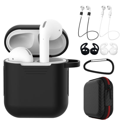 7 Pcs/Set Silicone Earphones Case For Airpods 1 & 2 .