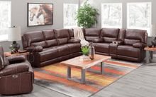 Load image into Gallery viewer, DeMarco Power Reclining Leather Sectional