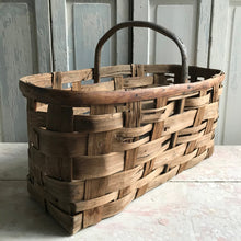 Woven French Basket