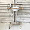 metal washstand