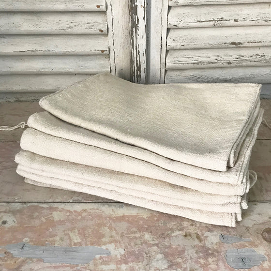Vintage Hungarian Grainsacks