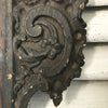 Dark Wooden Decorative Carving