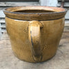 Large Honey Glazed Pot