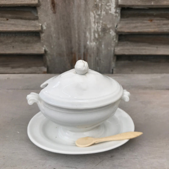 Small French Mustard Pot