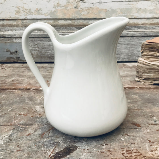 Large white Jug
