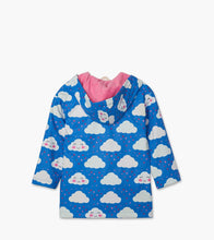 Load image into Gallery viewer, Hatley Cheerful Clouds Colour Changing Raincoat