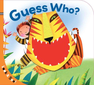 Look & See Guess Who? Board Book
