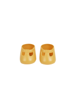 Load image into Gallery viewer, Dinkum Doll Shoes - Corn Yellow