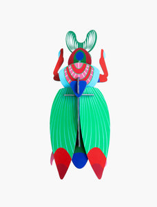 Studio Roof Wall Art Puzzle - Giant Scarab Beetle